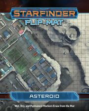 Starfinder Roleplaying Game RPG: PRESALE Asteroid Flip-Mat New