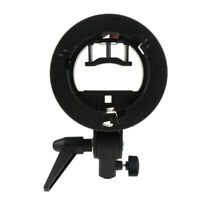 For Godox AD200 S Type Bracket Studio Flash Bowens Mount with Umbrella Hole