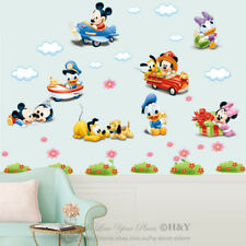 Disney Baby Mickey Minnie Mouse Wall Sticker Removable Vinyl Decal Nursery Decor