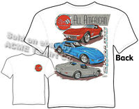 68-82 Corvette TShirt 1968-1982 C3 Corvette Apparel Shirt Chevrolet Clothing Tee