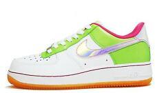 Nike Air Force 1 Gs Irridescent Swoosh Dunk Roshe Free Jordan 7Y 8.5