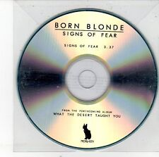 (EH111) Born Blonde, Signs of Fear - 2012 DJ CD