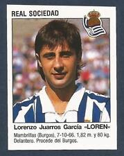 "PANINI FUTBOL 93-94 SPANISH -#401-REAL SOCIEDAD-LORENZO JUARROS GARCIA ""LOREN"""
