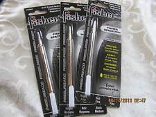 3 Three REFILLS black-MEDIUMpoint - Fisher Space Pen SPR4