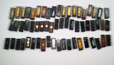 60x Vintage IC DIP-14-18 USSR GOLD SCRAP RECOVERY To the collection