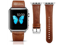 Exklusives Armband für Apple Watch (42 mm), aus echtem Leder, Handarbeit, Neu!