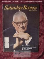 Saturday Review October 9 1965 ROY THOMSON REX STOUT WILLIAM HENRY CHAMBERLIN