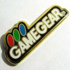 2001 JAPAN SEGA GAME GEAR CONSOLE PIN BADGE RETRO LOGO DREAMCAST SGGG SET RARE!