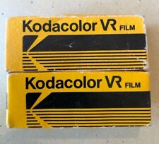 2- Kodak CL 127 Kodacolor VR color print film, expired, cold stored, fast ship.