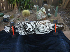 "Koston Pro Longboard skateboard downhill street smart abec9 ""Day of the Dead"""