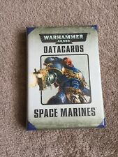 Warhammer 40K Space Marines Datacards - New & Sealed