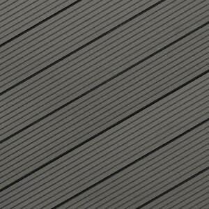 WPC Terrassendielen Hohlkammer hellgrau TOPWare ab 4,20 €/lfm 3000-4800x146x22mm