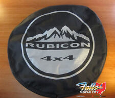 2007-2018 Jeep Wrangler Rubicon Denim Spare Tire Cover NEW MOPAR OEM