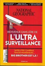 NATIONAL GEOGRAPHIC n°221 février 2018 L'ultra-surveillance_Intelligence oiseaux