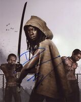 "~~ DANAI GURIRA Authentic Hand-Signed ""MICHONNE The Walking Dead"" 8x10 Photo B~~"
