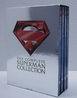 The Complete Superman Collection DVD Box Set 4 Discs - Superman I, II, III, IV