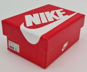 Nike Mini Sneaker Keyring Shoe Box Brand New White/Red