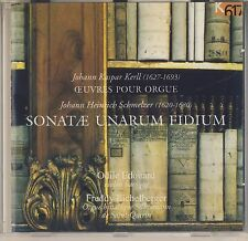 Kerll: Oeuvres pour Orgue; Schmelzer: Sonatae' Unarum Fidium (K 617) Like New