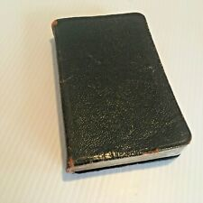 Vtg 1930 Mon Missel Cabrol Leather French Catholic Missal Leather Pepin Family