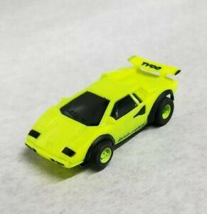 Tyco Lamborghini 440x2 Custom Slot Car