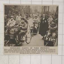 1920 Crippled War Heroes Under Treatment At Military Hospitals Honoured  France