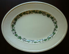 Wedgwood Stratford Cream Ware with Green Ivy Platter