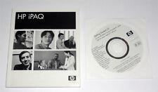 Getting Started CD for HP iPAQ HX2000 Series X11-45319 WM 5.0 + Orig User Manual