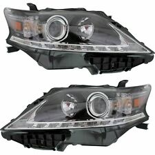 2013 2014 2015 Fits For LX RX350 HALOGEN ONLY!! Headlight Pair Right & Left Side