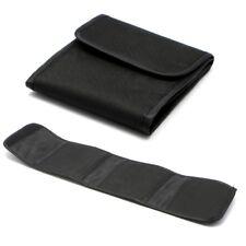 Lente de cámara caso bolsa de almacenamiento de información filtro óptico Protector Soporte para 3 Filtro 82 mm