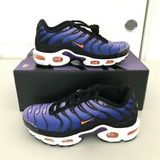 Nike Air Max Plus Voltage Purple Orange Running Shoes BQ4629-002 Men 5 Wmn 6.5