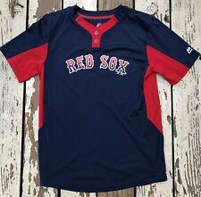 MLB Boston Red Sox Baseball • MAJESTIC THREADS • Youth JERSEY Shirt size SMALL
