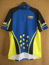 Maillot cycliste LOOK sport 90'S Team Jersey Vintage Bleu et jaune - 5 / XL