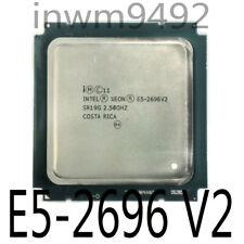 Intel Xeon E5-2696 V2 2696V2 2.5Ghz 12-Cores LGA2011 association 2695 V2 2697 V2