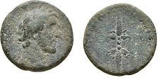 Ancient Rome MACEDON KOINON 138-161 AD ANTONINUS PIUS THUNDERBOLT #1