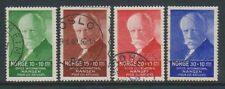 Norway - 1935, Dr. Nansen Fund set - F/U - SG 235/8