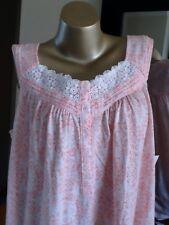 Women's Croft & BarrowPlus Knit Cotton Blend Long Sleep Gown, Pink NWT Size 2X