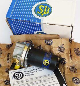 SU AUA66 Genuine Burlen 12V Fuel Pump for Morris Minor & Series 1 Land Rover