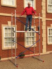 DIY Aluminium Scaffold/Scaffolding Tower/Towers/Platform 4m reach height