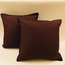Ralph Lauren Accent Pillows 16 x 16 With Feather inserts Excellent Condition!