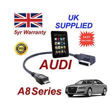 AUDI A8 séries 4F0051510M Câble pour Amazon Kindle Fire HD MICRO USB Câble Audio