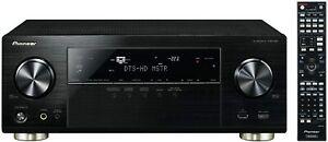 Pioneer VSX-824-K 5.2-Kanal AV-Receiver mit 6x HDMI-Eingängen AirPlay, DLNA, BT