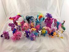 Large Lot of 22 - My Little Pony - Figures + 1 vehicle - Hasbro
