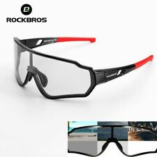 ROCKBROS Polarized Photochromic Cycling Glasses Bike Glasses Outdoor Sports MTB