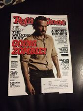 ROLLING STONE - Oct 24, 2013 - WALKING DEAD Cover - Zombie, Pearl Jam, Arsenio