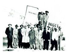 1946 SATCHEL PAIGE ALL STARS  8X10 TEAM PHOTO NEGRO LEAGUE  BASEBALL O'NEIL