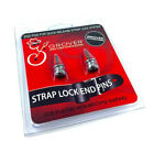 Grover Chrome Strap Lock Buttons for Original Fender/Schaller Strap Locks GP810C for sale