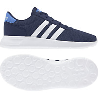 Adidas Kids Shoes Boys Running Lite Racer School Fashion Trainers F35529