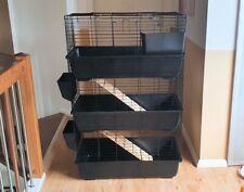 Nagerkäfig TOWER CAGE Nagervoliere Hamsterkäfig Käfig Stall Kleintierkäfig NEU