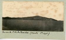 Turquie, ile de Bozcaada, ile de Ténédos, vue sur les cotes  Vintage print,
