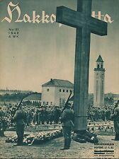 Finland Wartime Magazine Hakkapeliitta 1942 #21 - WWII -